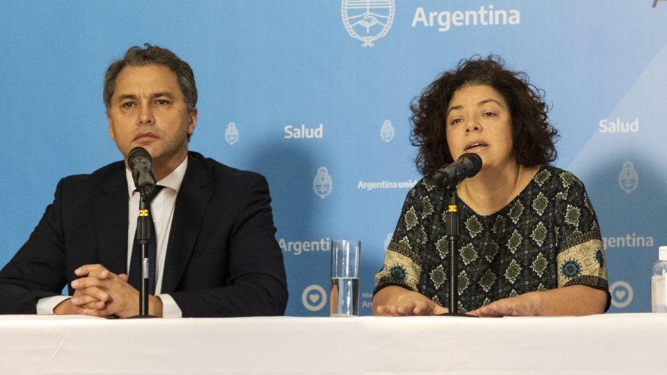Carla Vizzotti con Alejandro Costa 20210329