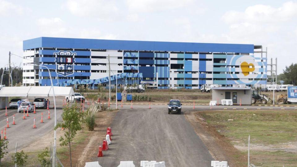 El Centro de Vacunación del Km46, en Pilar 20210329