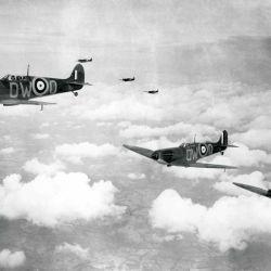 La RAF fue creada por decreto del rey Jorge V de Inglaterra.