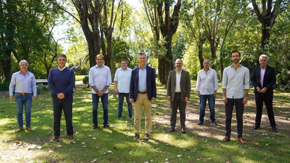 Macri con intendentes bonaerenses