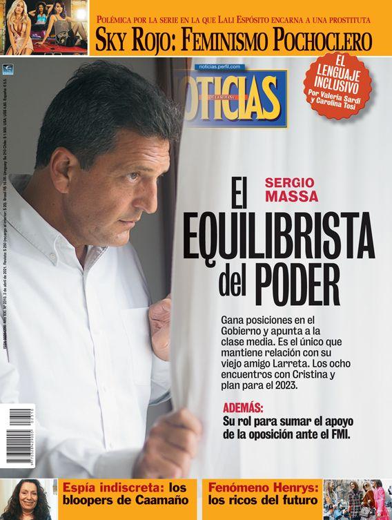 Sergio Massa, el equilibrista del poder | Foto:Pablo Temes