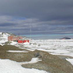 Luego de su reconstrucción pasó a formar parte de la Base Esperanza, bajo la denominación de Galpón de Marina,