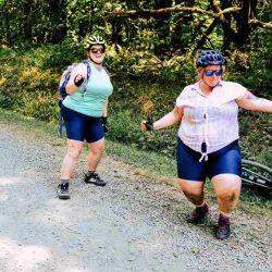 Ambas coinciden en que viven en una sociedad obsesionada con el peso, lo que muchas veces deriva en serios trastornos alimenticios.