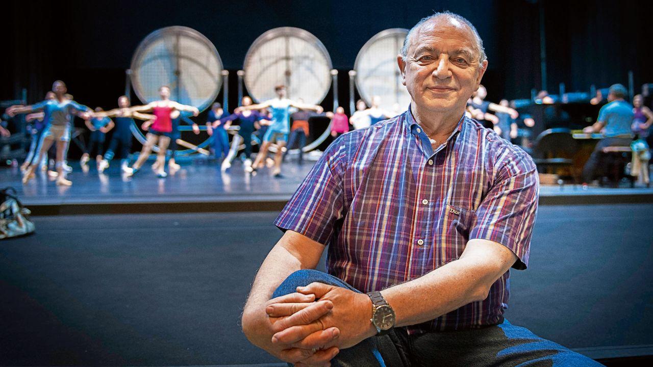 """Uno de los espectáculos que prepara es un homenaje a Piazzolla. Quiere coreografiar """"Oblivion"""", su obra más hermosa a su criterio.   Foto:Gentileza Mauricio Wainrot"""