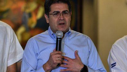 El presidente de Honduras ha participado en una violenta conspiración para el tráfico de cocaína, dijo un fiscal estadounidense en una audiencia de sentencia para el hermano del presidente.