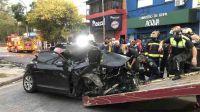 20210402 Lanus Audi Atropellaron a Dos Hermanas