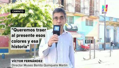 Trolebús Quinquela Martín en La Boca