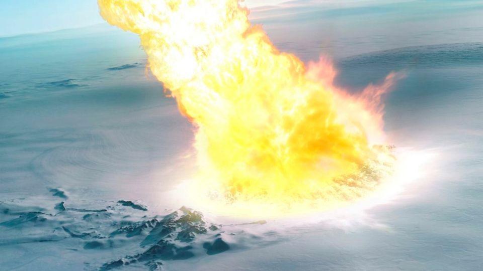 asteroide antartida