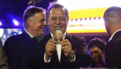"""EL BENDECIDO. Santos espera el arribo de Macri para la confirmación oficial: """"ser el hombre de Mauricio en Córdoba""""."""