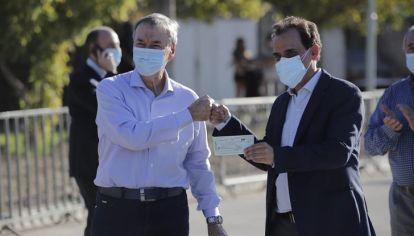CAMPAÑA Y PROTOCOLOS. Schiaretti en la semana y una escala en Río Cuarto con Llamosas.