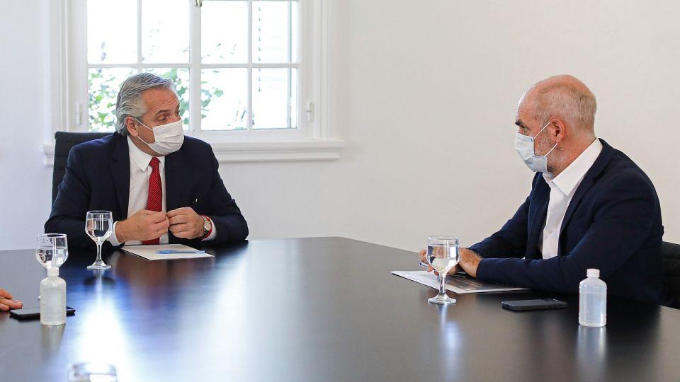Tras el encuentro presencial suspendido entre Fernández y Larreta, se pasó a la modalidad virtual.