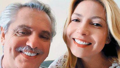Fabiola Yáñez y Alberto Fernández.