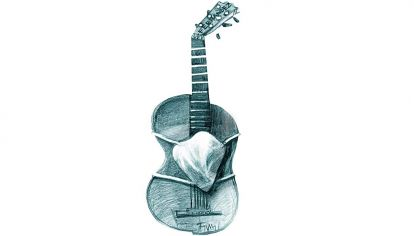 While my guitar gently weeps...