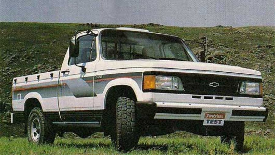 Chevrolet D-20 De Luxe