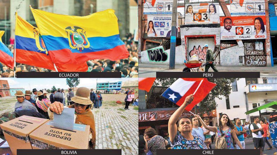 20210404_elecciones_ecuador_chile_peru_bolivia_cedoc_g