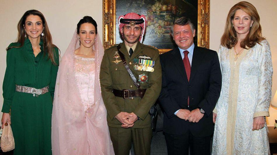 familia real jordania