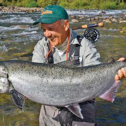 Para varar Chinooks, conviene arrimarlos a sectores bajos del río.