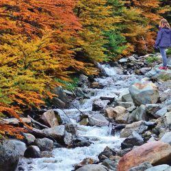Los arroyos de montaña parecen cortafuegos.