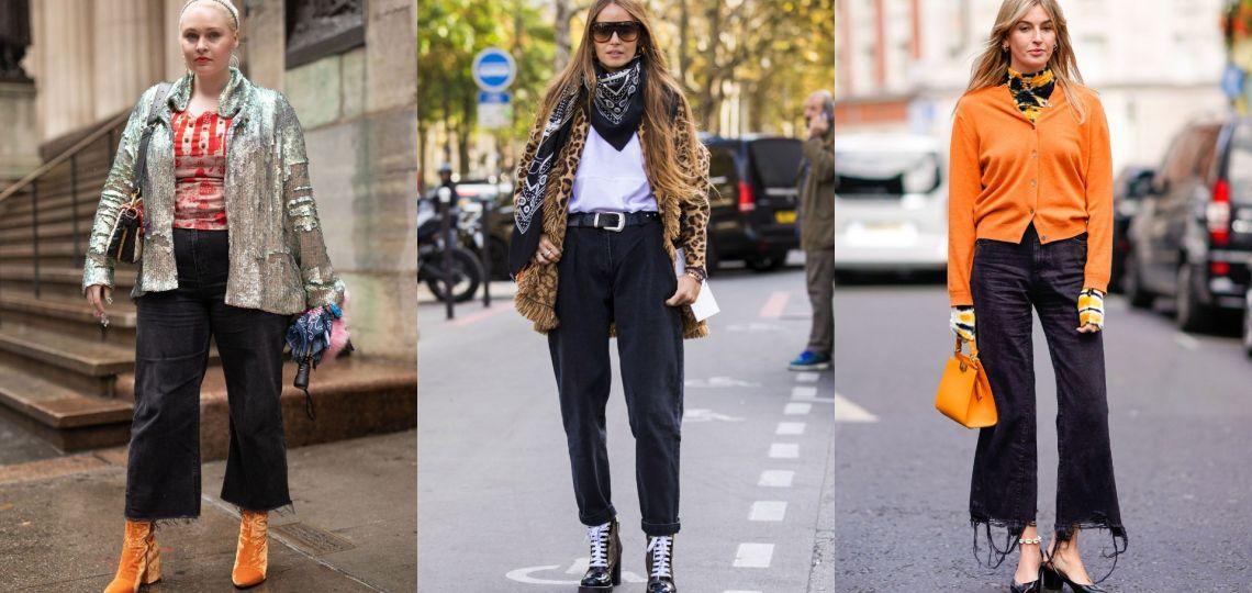 Jeans negros: Sacáles provecho con estos looks