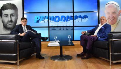 Jorge Fontevecchia entrevista a Anibal Jozami