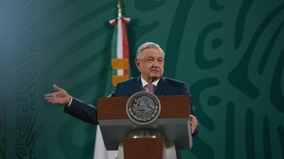 President Lopez Obrador Holds First Briefing After Covid-19 Infection