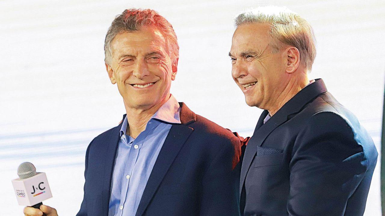 Mauricio Macri y Miguel Ángel Pichetto   Foto:cedoc