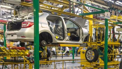 Producción de autos en la Argentina.