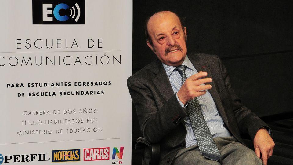 Julio Barbaro en el Ciclo de Entrevista