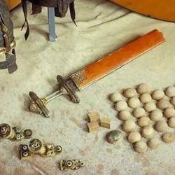 Los investigadores también encontraron gran cantidad de provisiones y de herramientas para cazar y pescar.