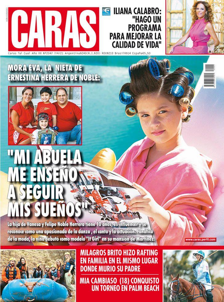 """Mora Eva, la nieta de Ernestina Herrera de Noble: """"Mi abuela me enseñó a seguir mis sueños"""""""