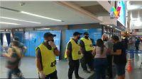 Controles Covid-19 Tren Sarmiento