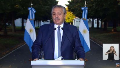 Alberto Fernández anuncia nuevas medidas.