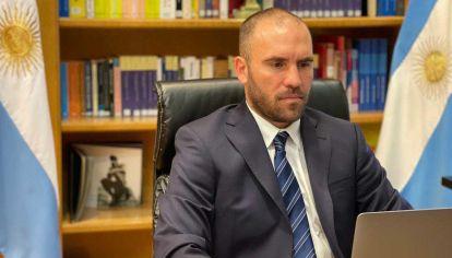 Guzman expuso en reunión virtual de ministros de Finanzas del G20