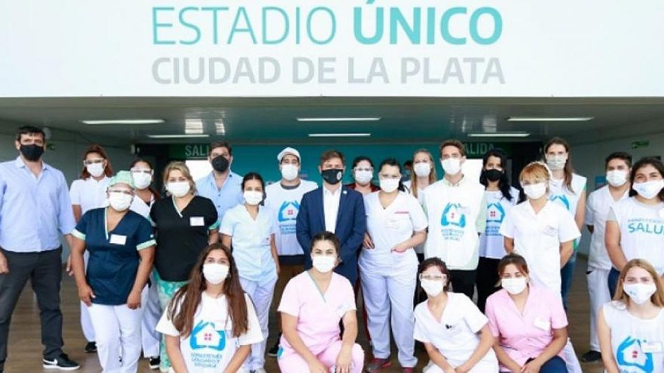 Vacunación La Plata 20210407