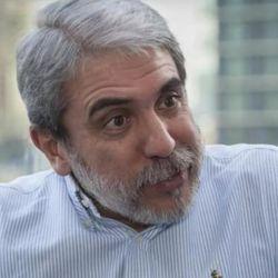 Aníbal Fernández se burló de Fernando Iglesias. | Foto:CEDOC