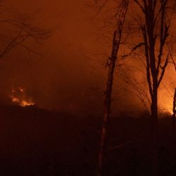 Incendios en la Patagonia.