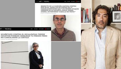 El crítico Rodrigo Cañete y sus posteos.