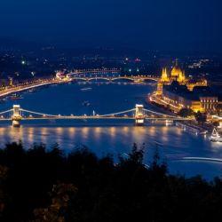 Río Danubio en Budapest