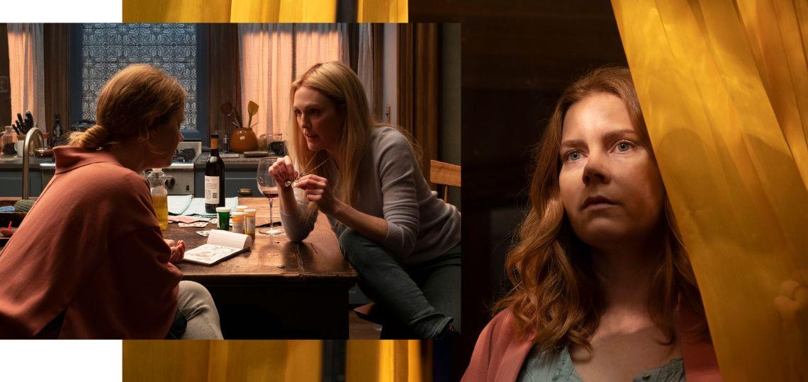 Entrevista a Amy Adams y Julianne Moore, protagonistas de La mujer en la ventana