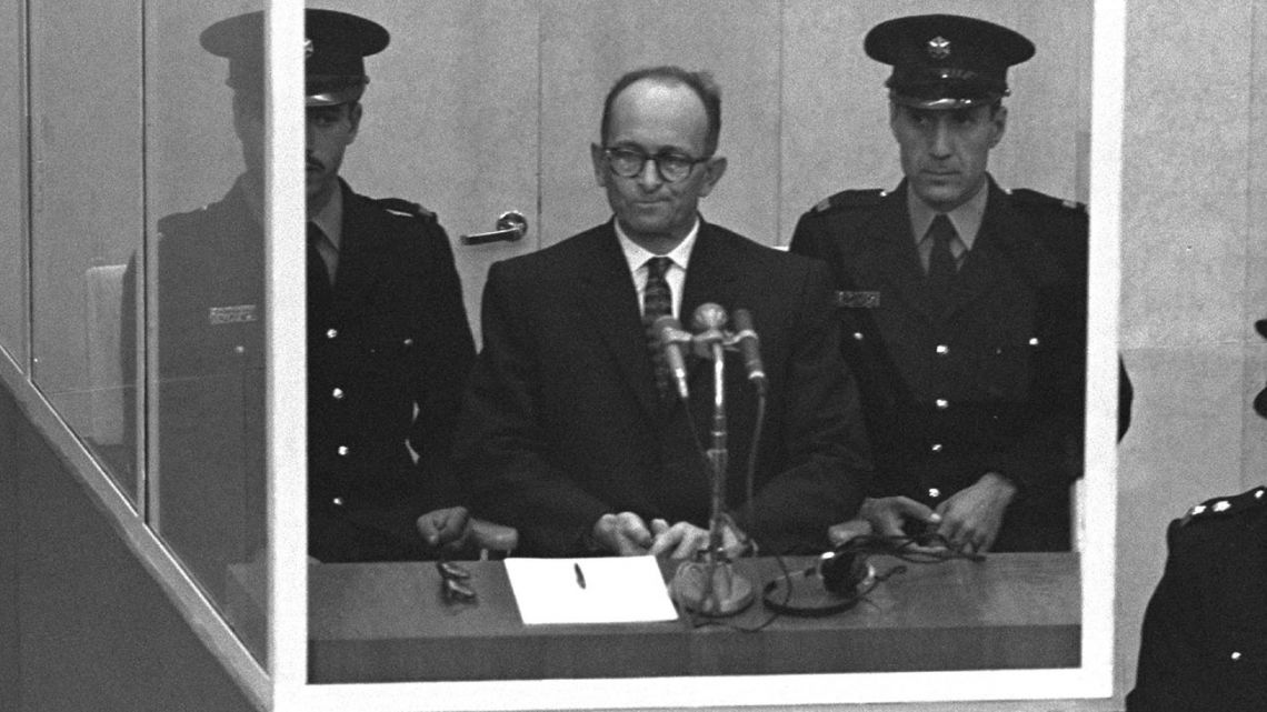 For four months in 1961 the barbarism of Nazi Germany was focused on the gaunt bespectacled figure of Adolf Eichmann, standing alone in a dock in Jerusalem.