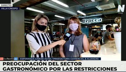 """García Acha, empresaria: """"Las nuevas restricciones son parte de las reglas del juego"""""""