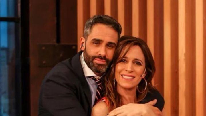 """El Pollo Álvarez y Sandra Borghi se despidieron de """"Nosotros a la Mañana"""""""