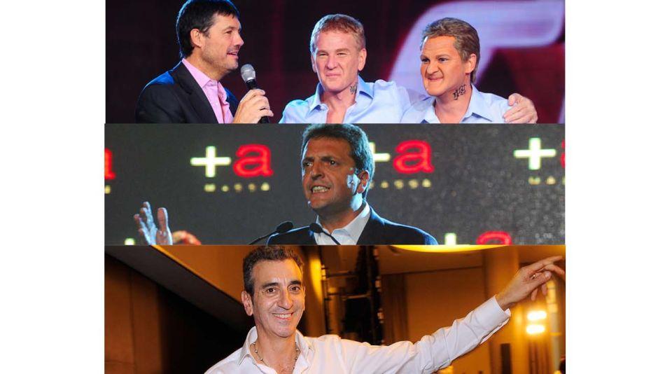 Derrotas k: producidas por De Narváez, Massa y Randazzo.
