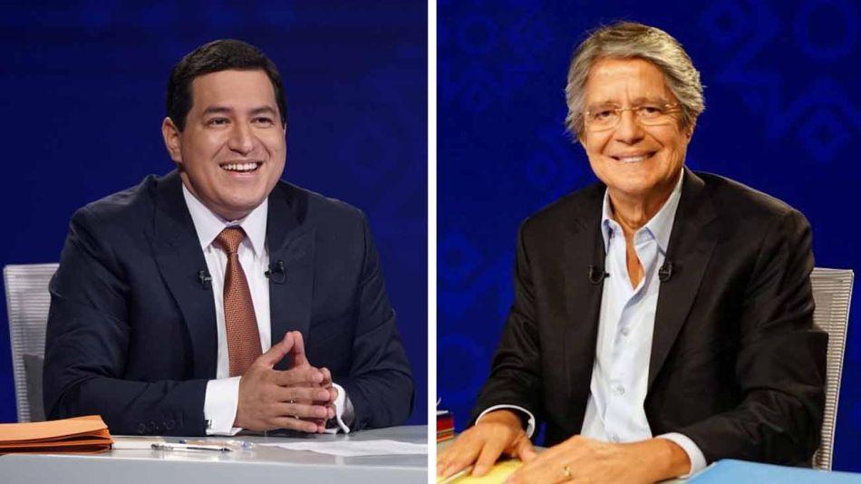 Guillermo Lasso y Andrés Arauz elecciones en Ecuador 20210409