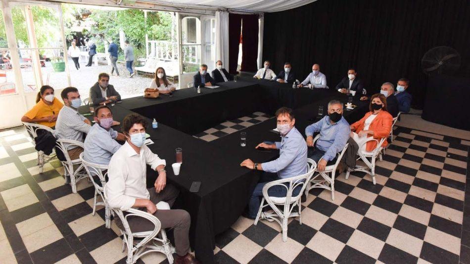 Juntos por el Cambio. En el encuentro del martes pasado se trató el tema, pero se definirá en una nueva cumbre.