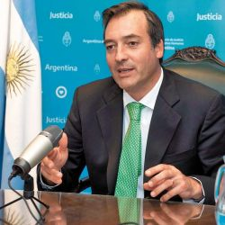 Martín Soria, Argentina's justice minister.