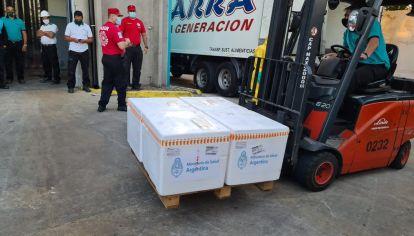 VACUNAS EN CORDOBA. Las vacunas que llegan a Córdoba desde la Nación. Las gestiones propias aún no lograron compras.