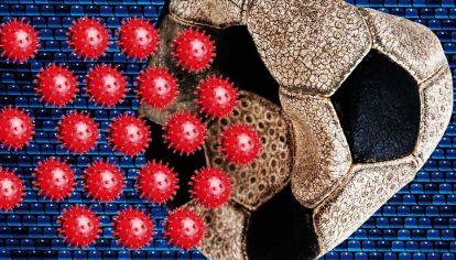 Coronavirus en el fútbol.