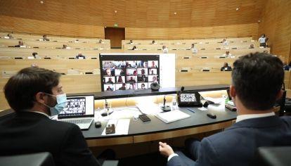 CONTENIDOS. La oposición dividida, el control del oficialismo peronista en la Unicameral.