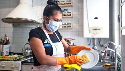 Trabajadoras de casas particulares. Interesante estudio del ELA publicado en 50/50.